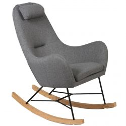 Rosa - Rocking-Chair Gris