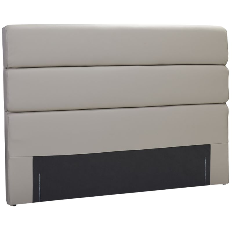 tamiko t te de lit 160 gris taupe altobuy meuble. Black Bedroom Furniture Sets. Home Design Ideas