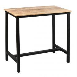 Seryne - Table Mange-Debout Rectangulaire 120cm