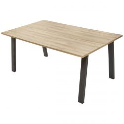 MASSIRE - Table Rectangulaire 220cm Allongeable