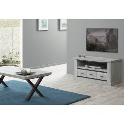MASSYLE - Ensemble Table Basse + Meuble TV