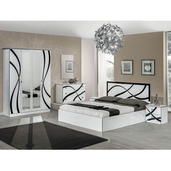 Sylla Chambre Complete Avec Lit 160x200cm Altobuy
