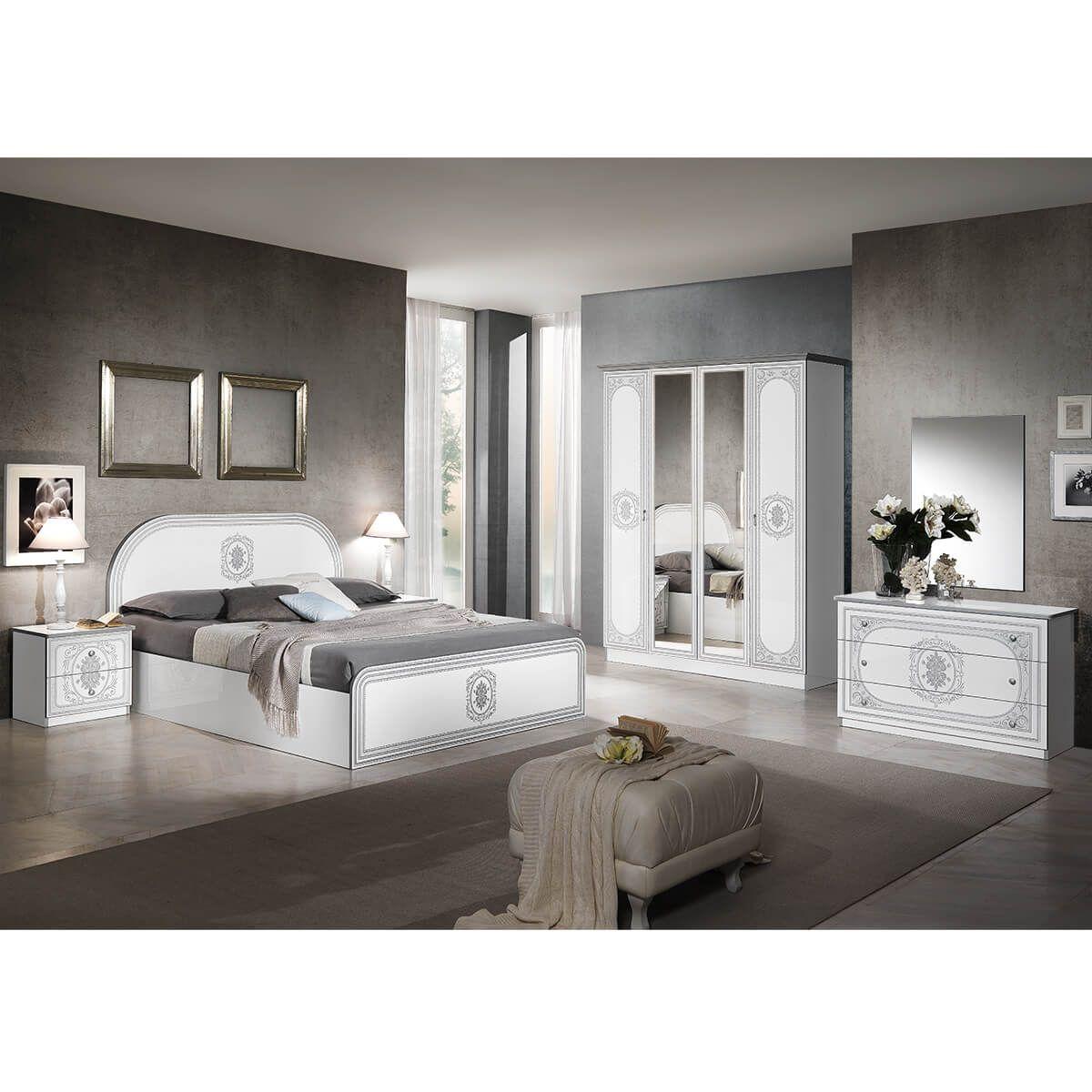 Altobuy-Solaya-Chambre-Complete-avec-Lit-160x200cm-Neuf