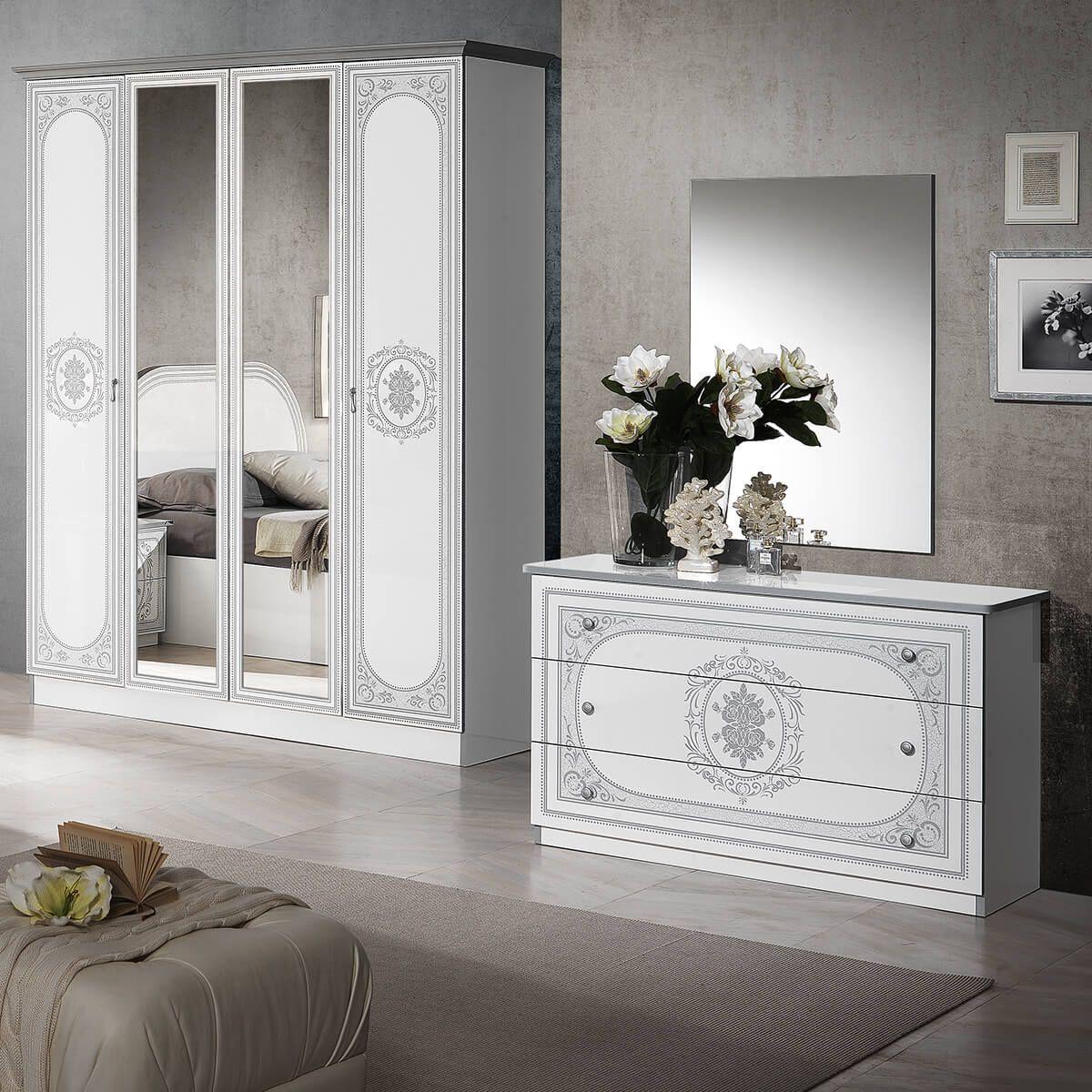 Altobuy-Solaya-Chambre-Complete-avec-Lit-160x200cm-Neuf miniature 3