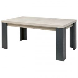 HERACLES - Table Rectangulaire 180cm Imitation Bois