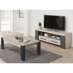 HERACLES - Ensemble Table Basse et Meuble TV