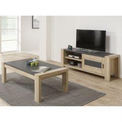 IRIS - Ensemble Table Basse et Meuble TV