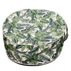 Milim - Pouf Rond Gonflable Motif Jungle