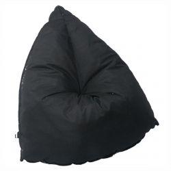 Gellyg - Pouf d'Extérieur Tissu Coloris Noir