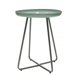 Apryl - Table d'Appoint Ronde Coloris Vert d'Eau