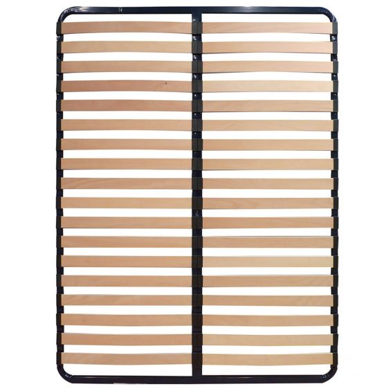 AltoSleep - Sommier 140x190cm 2x18 Lattes Naturelles