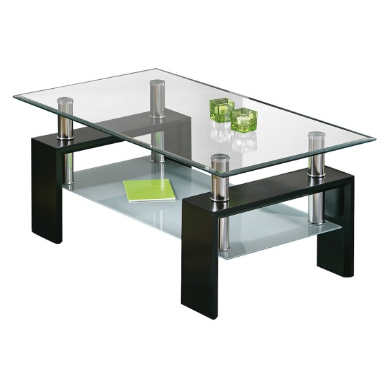 Base Noir - Table basse