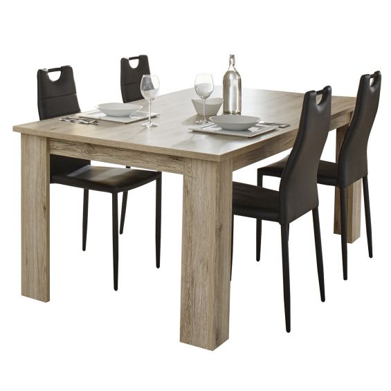 VIDSEL - Table Rectangulaire 180cm