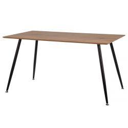 DURRES - Table Rectangulaire 140cm Placage Chêne