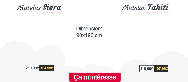 Lit multi rangement Forel au dimension 90x200 cm.
